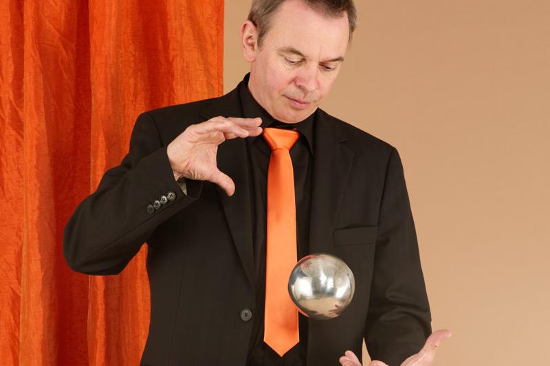 Fabian Rabe und seine Zaubershow